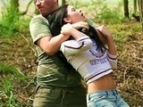 Soldier Didn't Have Mercy For Terrified Teen Girl