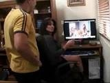 Horny Mom Caught Watching Porn On Son's Comp