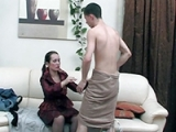 Horny Cougar Was So Consistent To See Boys Dick