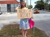 Hitchhiking Teen Gets The Ride Of Her Life!