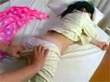 Sleeping Japanese Teen Abused In Her Sleep