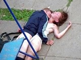 Junkie Fucked Nearly Unconscious Girl In Kids Playground