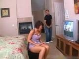 Dirty Mom Caught Watching Sons Porn Tape