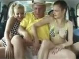 Grandpa Really Has Luck With Schoolgirls