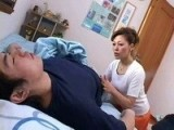 Japanese Mom Could NOT Resist Sleeping Boy's Morning Boner