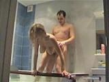 Busty GF Bath Fuck & Cum