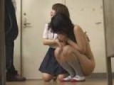 Asian Schoolgirl Cries After Being Humiliated