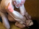 Pissed Grandpa Banged His Grandsons Girlfriend