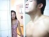 Sister Walks in on Brothers Friend Masturbating