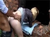 Teen Gets Intercepted On Her Way Home And Force Fucked In Abandoned Building