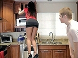 Mom Needs A Little Help In The Kitchen