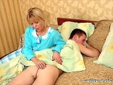 Girlfriends Mom Came To Wake Me Up For School