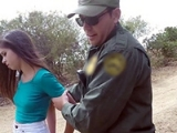 Immigrant Girl Arrested By Border Patrol Gets Fucked