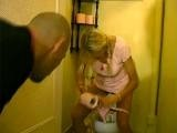 Dad Caught Sons Teen Girlfriend Being Dirty In His Bathroom