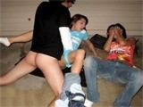 Girl Banged Next To Passed Out Lil Sister