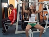 Hardcore Gym Fucking With Lustful Babe
