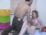 Baby Girl Likes To Spend Evening With Daddys Old Friend
