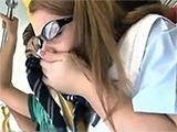 Naive Schoolgirl Groped And Fucked In Public Bus