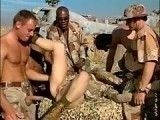 American Soldiers Showing No Mercy To Poor Blond Girl