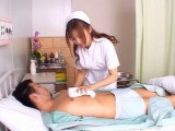 Filthy Japanese Nurse Helping A Patient To Feel Better