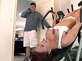 GFs Mom Got Stuck While Working Out