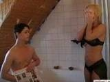 Girlfriends Stepmom Caught Boy Jerking In Their Bathroom