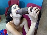White College Teen Trashed Hard By Monster BBC