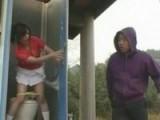 Japanese Schoolgirls Abused in Public Toilet