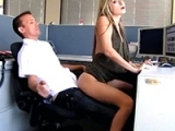 Office Pleasure With New Coworker