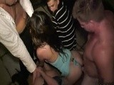 College Girls Get Fucked After A Wild Party