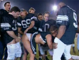 Football Team Violated Cheerleader On The Field
