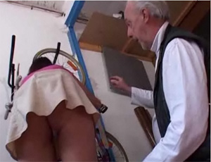 Grandpa Fucked My Cute Teen Virgin Girlfriend