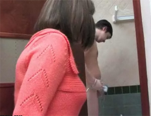 Lonely Mom Surprised Boy While Taking A Shower