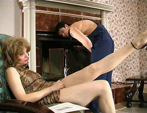 Mature Housewife Goes Too Far With Teasing Young Repairman
